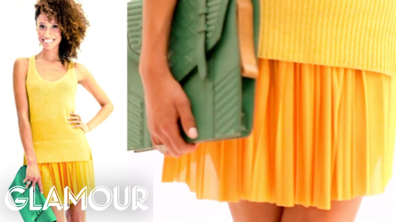 Mix and Match Summer's Hottest Fashion Trends - 5 Outfits in 60 Seconds | Fashion | Glamour