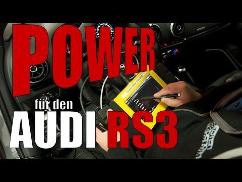 Audi RS3 8V  ( Stufe 1 430 PS / 600Nm )
