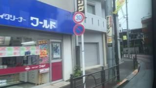 国際興業バス 車窓[1/2]練馬駅→平和台駅/ 赤01系統 練馬855発(赤羽行)