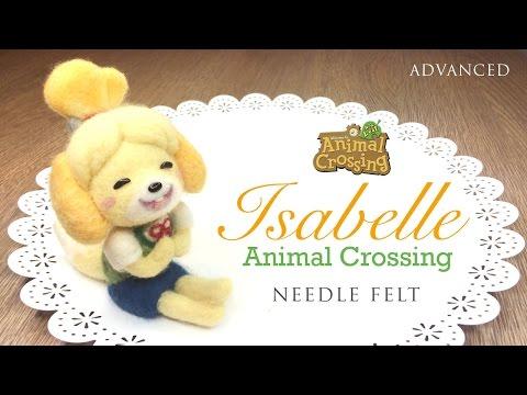 Animal Crossing DLC Felting Tutorial - Nintendo 3DS Collab with NerdECrafter