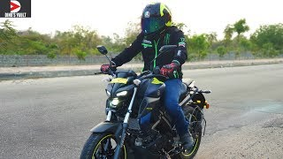 Yamaha MT15 Top Speed Braking Test MotoVlog City Ride Review