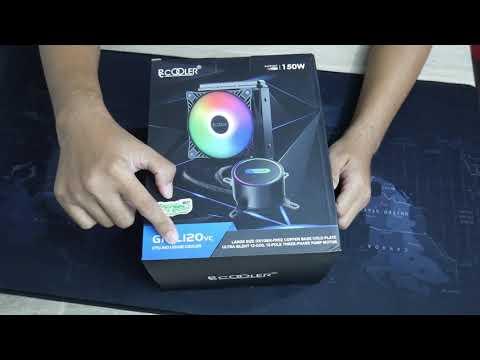 PCCOOLER GI-CL120VC - Unboxing dan cara rakit AIO liquid cooler termurah untuk Intel dan AMD di 2020