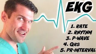 5 Step EKG for Nurses