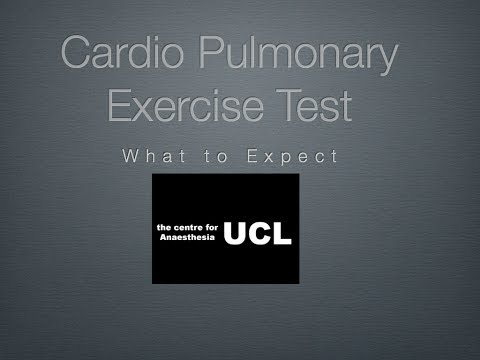 Cardio Pulmonary Exercise Testing for Patients
