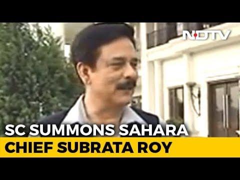 Sahara subrata roy news today in hindi