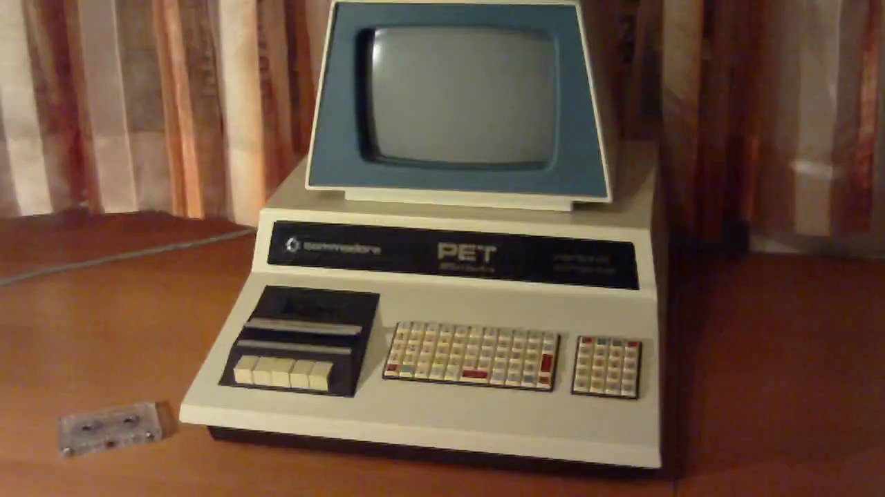 Commodore PET 2001 - YouTube