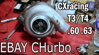 CXracing T04E Ebay Turbo Review TRB-T3T4-V