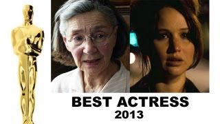 Oscars 2013 Best Actress : Jennifer Lawrence, Jessica Chastain, Quvenzhane Wallis, Emmanuelle Riva