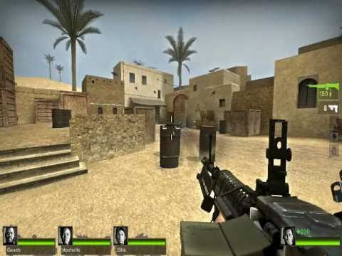 Counter Strike Source Maps Counter Strike: Source Maps in Left 4 Dead 2 + Mutations   YouTube