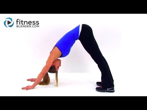 Yoga for Weight Loss & A Strong Toned Body - Fitness Blender's Yoga Inspired Total Body Toning