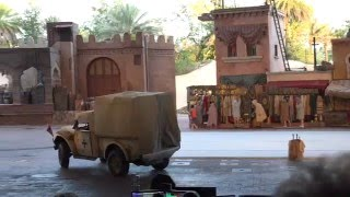 4K Indiana Jones Epic Stunt Spectacular!, Disney's Hollywood Studios, Orlando Fl, 12-27-15 Front Row