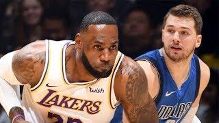 Nba Highlights Los Angeles Lakers湖人 Vs Dallas Mavericks