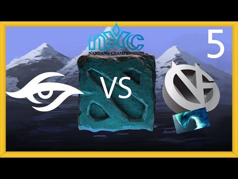 Secret vs VG - Nanyang LAN Playoff - FINAL - G5