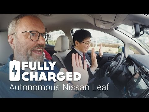 Autonomous Nissan Leaf | Fully Charged