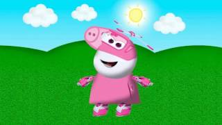 Peppa Pig PAINT painting colorir Super Wings em português Jett