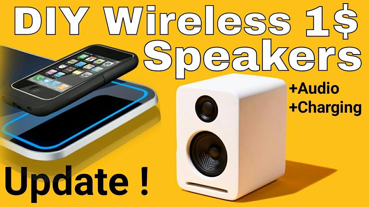 DIY Induction Wireless Speakers - How Near Field Audio ...