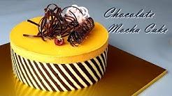 [Eng Sub] 부드러운 모카 초코 케이크 만들기 / Soft Chocolate mocha cake recipe /Double berry jam / 커피 케이크 / coffee