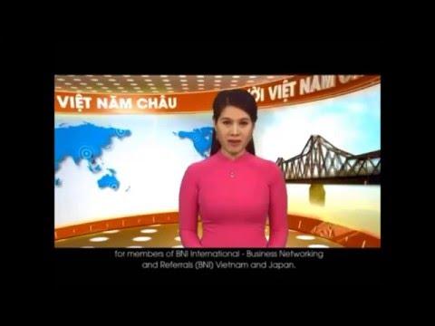 BNI VIETNAM BNI JAPAN - Business matching - VTV Nguoi Viet 5 Chau