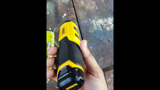 Zapętlaj Dewalt gyroscopic electric screwdriver, 8v review really handy | Mr. Bald