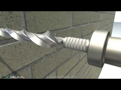 Wall Tie Replacement. Thor Helical Cavity Wall Ties
