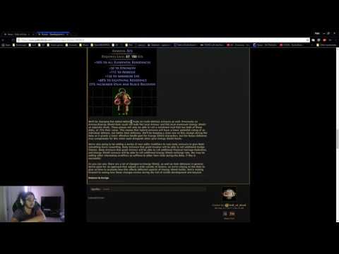 Path of Exile 3.0 & Beta Changes! Development Manifesto LIFE vs ES - The world is ending.
