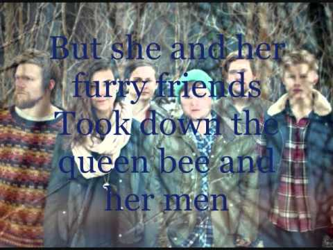 Of Monsters And Men - Dirty Paws Lyrics On Screen