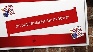 NO GOVERNMENT SHUT-DOWN