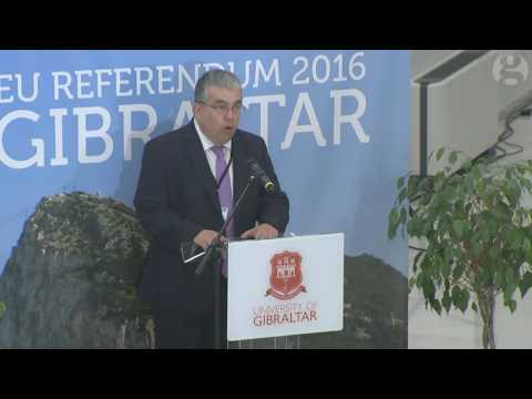 Gibraltar declares first EU referendum result