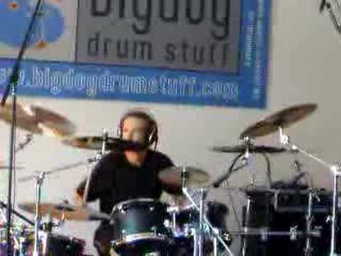 Ariën van Weesenbeek @ Drummers Day, Kaatsheuvel 21-04-2007
