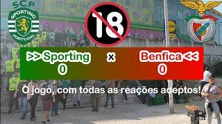 Sporting 0 x 0 Benfica O JOGO/VLOG direto na caixa Estádio