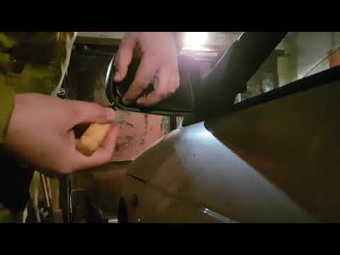 замена боковых зеркал заднего вида на ваз 2110