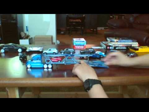 a6db9d434f412 maisto car carrier - YouTube