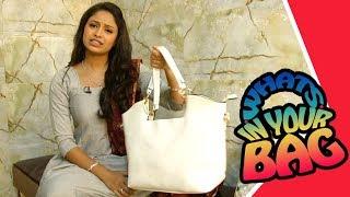 What's In Your Bag | Meera aka Sayali Deodhar From Lek Majhi Ladki | Star Pravah