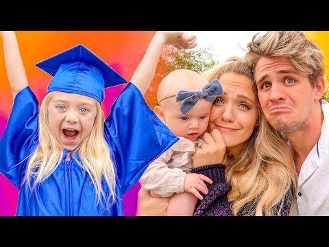 Everleigh's Kindergarten Graduation!!! (Surprise Party AND Ceremony)