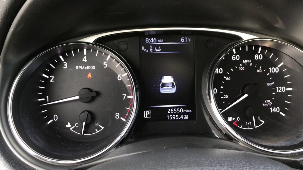 Oil Filter Maintenance Light Reset on Nissan Rogue 2014-2016