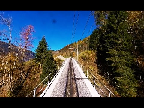 Driver's Eye View – Lauterbrunnen to Kleine Scheidegg (Switzerland)