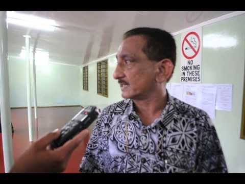 Suva City special administrator meets the media