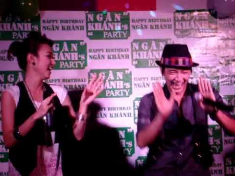 Clip a HUY nhảy 3 con gấu tại Party của c Khánh tại Bo music