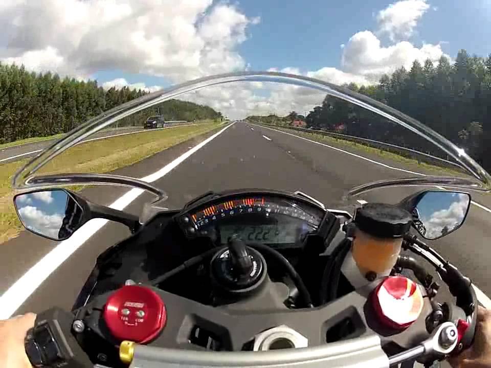 kawasaki zx10r top speed! - youtube