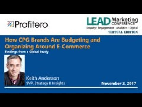 How CPG Brands Are Budgeting and Organizing around E-Commerce