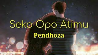 Seko Opo Atimu - Pendhoza Lirik Animasi