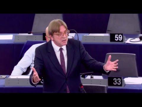 Guy Verhofstadt 22 Nov 2016 plenary speech on EU Turkey relations