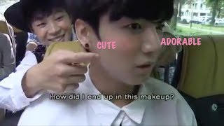 BTS HYUNGS ADORING & PLAYING WITH BABY JUNGKOOK