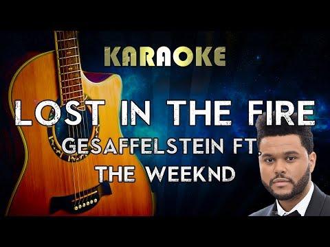 The Weeknd - Lost In The Fire (Acoustic Guitar Karaoke Instrumental) ft. Gesaffelstein