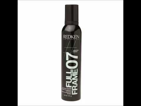 Redken Full Frame 07 All Over Volumizing Mousse 8 5 oz - YouTube