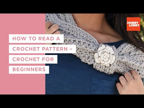 Crochet Basics How To Read A Crochet Pattern Youtube