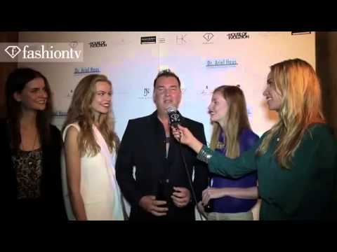 London Fashion Week's House of Evolution with Noelle Reno and Face Addict Hair Junkie for Fashion TV