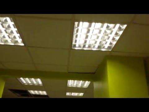 Замена ртутных ламп на светодиодные.