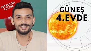 Güneş 4. Evde (Burçlarda): Kariyer ve Karakter | Kenan Yasin ile Astroloji