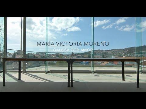 Mª Victoria Moreno, galega por amor